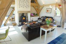 Interesting Oak interiors