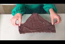 Dobrar Roupas - Técnicas de um Projeto de Organização / Sobre técnicas de dobras de roupas para que o armário fique mais otimizado, prático e funcional