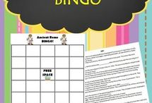 6th grade Vocabulary Activities / Ideas