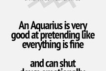 aquarius / qoutes and pics on aquarians