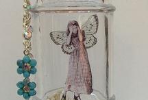idee con vetro decorato