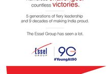 Essel Group #YoungAt90 / Essel Group is an Indian conglomerate company presently headed by Dr. Subhash Chandra based in Mumbai, Maharashtra, established in 1926.