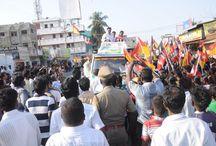 ON THE CAMPAIGN TRAIL! Thalaivar R.Sarathkumar MLA Piracharam / To View More Images Please Visit @ http://goo.gl/ji7vIs