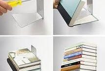 Leijuvat kirjahyllyt / Suositut näkymättömät kirjahyllyt joilla saat kirjat leijumaan seinilläsi.