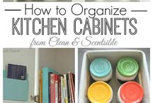 Organize Kitchen / by Andie Langston