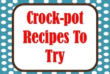 Crockpot Anything / by Kathie Morris Wysinger