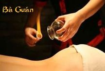 Cupping | bá guàn / Cupping Therapy (Bá Guàn) is a type of therapy where suction cups are applied directly to the skin. In the glass cups creates the vacuum in several ways, with fire by burning and consuming the oxygen inside of the cup and immediately applying it to the skin before oxygen re-enter. Info: http://www.oriental-massage-madrid.com/massage/cupping