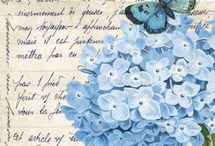 printables for decoupage and more laminas печать εκτυπωσεις: flowers and butterflys