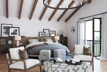 bedroom wooden ceiling