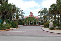 Disney's Caribbean Beach Resort / Photos and information about Disney's Caribbean Beach Resort - a moderate hotel at the Walt Disney World Resort in Florida.