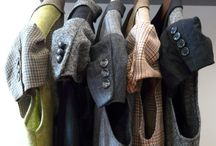 Upcycling mens suits