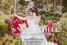 """""""Snow White"""" - A Real Weddings Styled Photo Shoot / From the """"Snow White"""" feature in the Winter/Spring 2017 issue of Real Weddings Magazine, Katherine Elyse Photography © Real Weddings Magazine, www.realweddingsmag.com. For a full list of vendors on this styled shoot, and to see more photos, go to: http://realweddingsmag.com/sacramento-wedding-inspiration-snow-white-the-layout-from-the-winterspring-2017-issue-of-real-weddings-magazine/"""