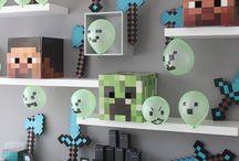 Minecraft / Anniversaire Minecraft