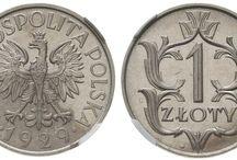 polskie monety i banknoty-polish coins & banknotes