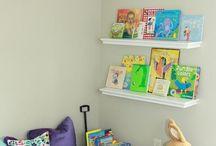 Rincones de lectura infantiles / Espacios destinados para la lectura de los más pequeños y en familia.