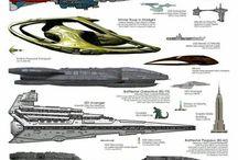 Spaceships. SciFi