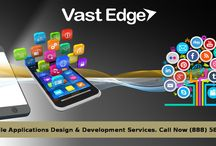 VastEdge - Mobile Apps Design & Development Services / VastEdge is one of the most preferred IT consulting companies in building applications for mobile platforms, creating a unique brand value for its clients. The distinguished database of experts at VastEdge contribute to our customers in designing a complete mobile solution meant for Android, iOS, Microsoft, BlackBerry and others.