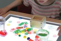 Table lumineuse / Light table - Table lumineuse - Reggio - Montessori