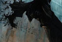 Batman / Imagens e desenho sobre o Batman
