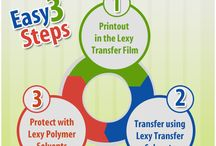 Lexy Print Transfer Technology / Three Easy Steps to transfer image to any flat substrates like Granite, Marble, Glass, Wood, Gypsum Board,PVC Sheet and so on using our Lexy Print Transfer Technology for more details visit us on http://www.lexy.in