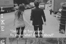 song lyrics I love