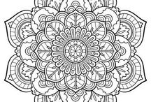 colouring flower