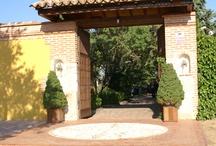 Portón entrada finca