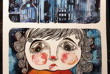The Little Match Girl illustrations