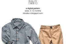 sewing tutorial and pattern, boys cloths