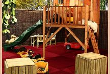 Kids outdoor area