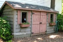 Tiny house shed