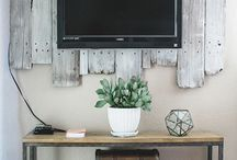 tv decor / by Kara Torseth Hamlin