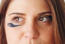 Eye tattoos / Temporary Tattoos for eyes