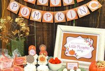 fall baby shower / by Clare Niederpruem