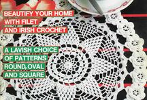 decorative crochet magazine / crochet