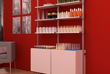 Open for Business / Retail Displays, Modern, Minimal, Green