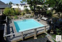 Reportage photo : une piscine carrée à Nantes / Découvrez cette sublime piscine réalisée par Piscinelle en Loire-Atlantique à Nantes.