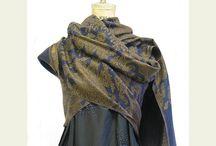 Ways to wrap a shawl