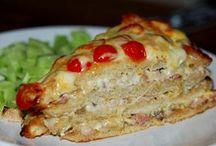 Varma mackor, Varm Smörgåstårta & Quesadillas