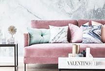 Sofa, Teppich, Tisch