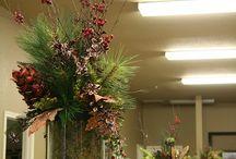 kerst / bloemstukken