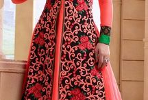 Anarkali suits and lehengas