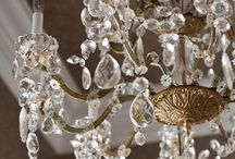 Chandeliers and Crystals