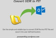Convert OLM to PST