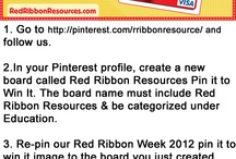 Red Ribbon Resources Pin it to Win it / by jules mcnubbin