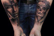 Kobiece tatuaże