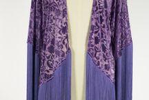 TERCIOPELO DEVORÉ / Kimonos modelo Saitama en terciopelo devoré