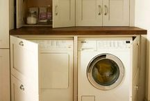 Laundry Room / Because pretty and organized might make it more fun.