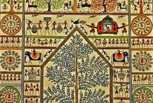 Indian art tribal /folk