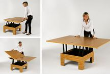 Convertible coffee dining tables